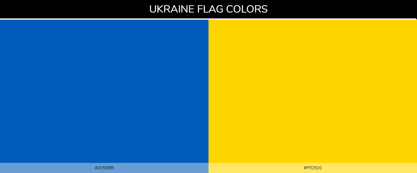 Color Palettes Of All Country Flags 157
