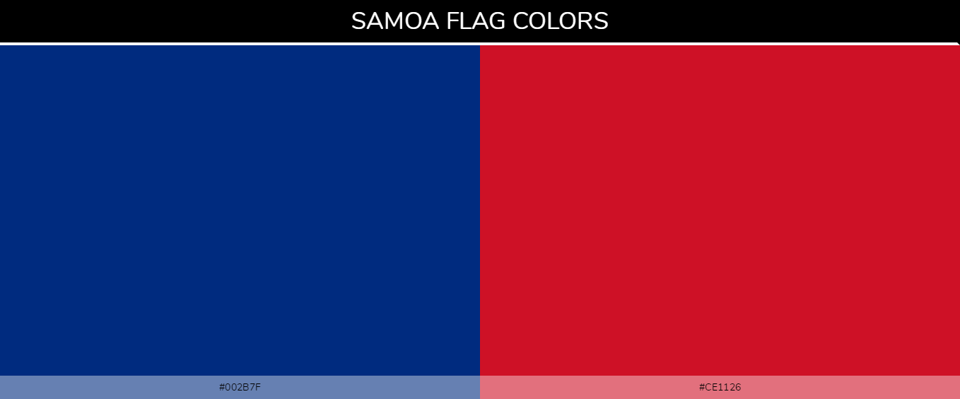Color Palettes Of All Country Flags 160