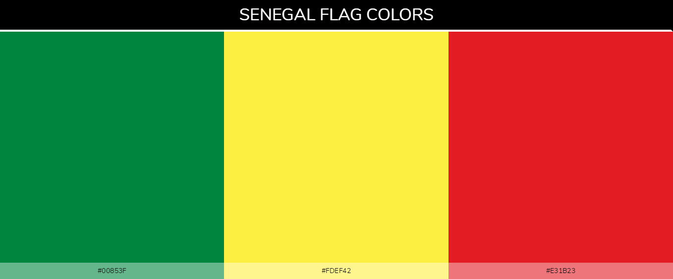 Color Palettes Of All Country Flags 163
