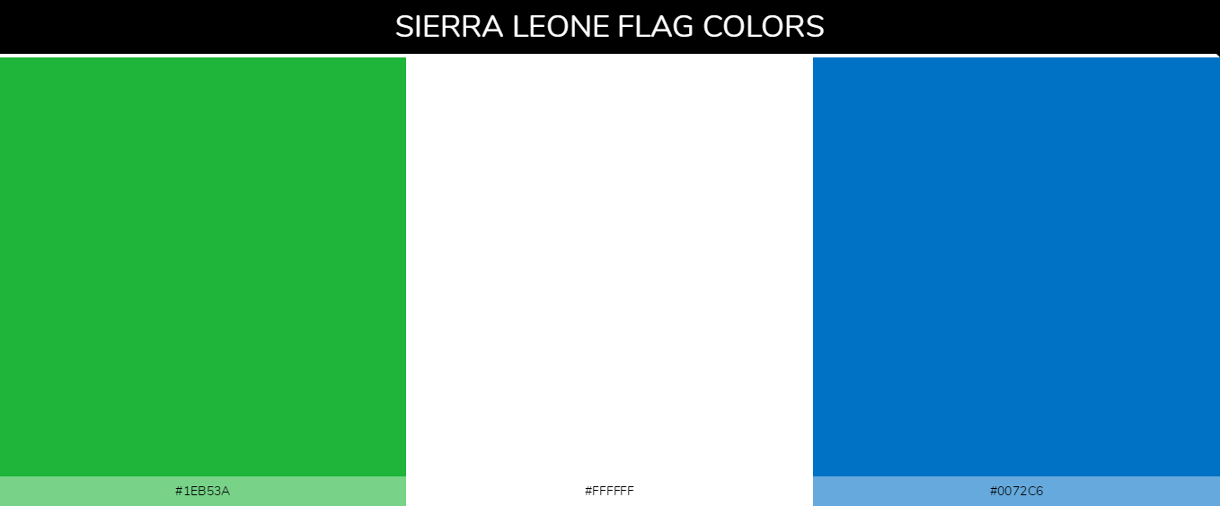 Color Palettes Of All Country Flags 167
