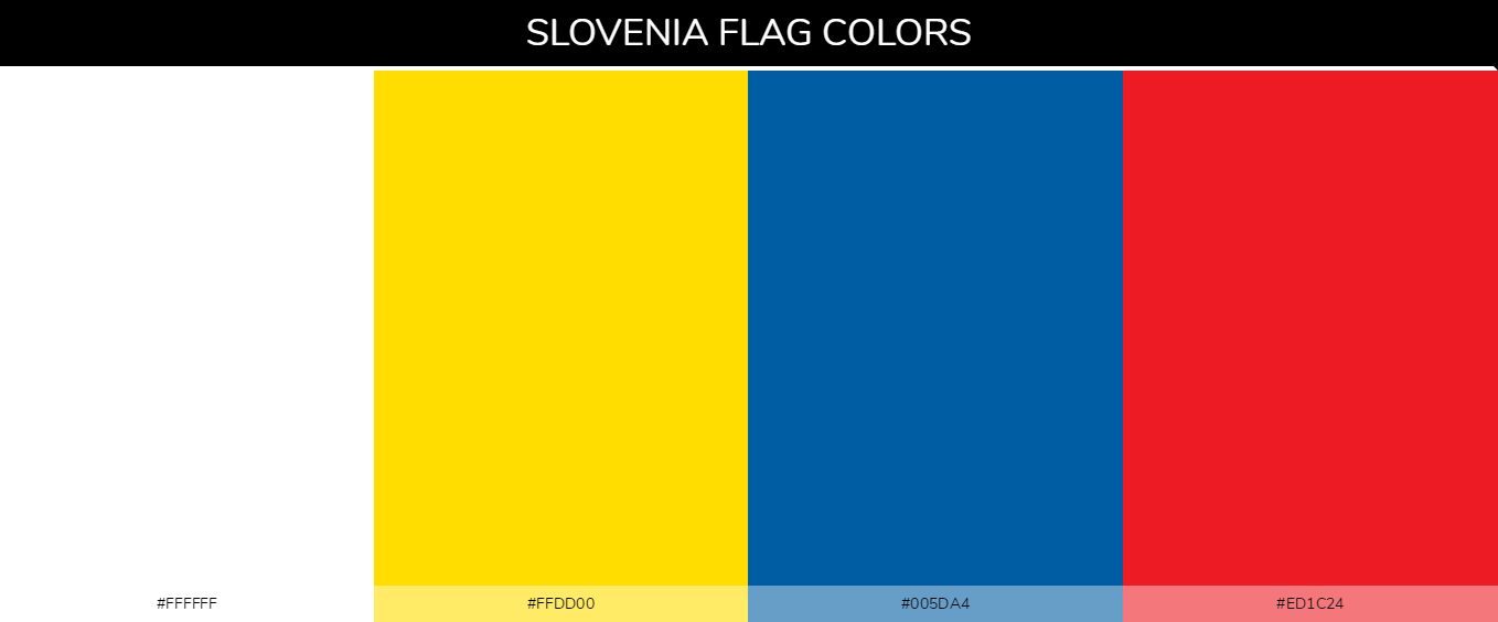 Color Palettes Of All Country Flags 171