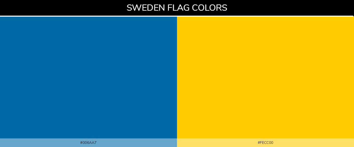 Color Palettes Of All Country Flags 177