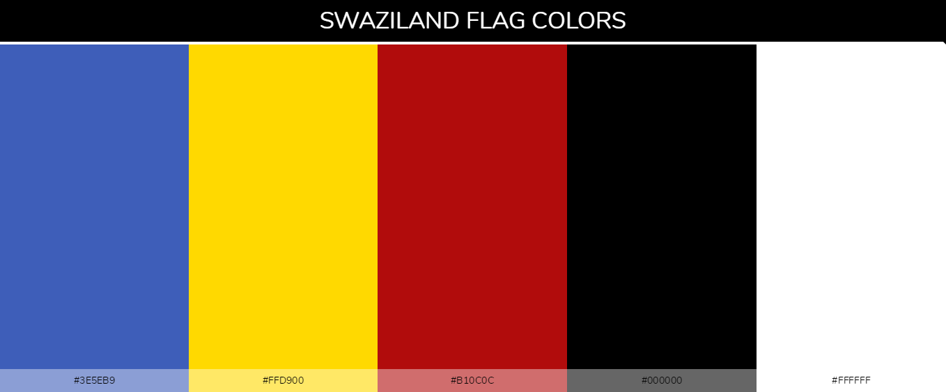 Color Palettes Of All Country Flags 178