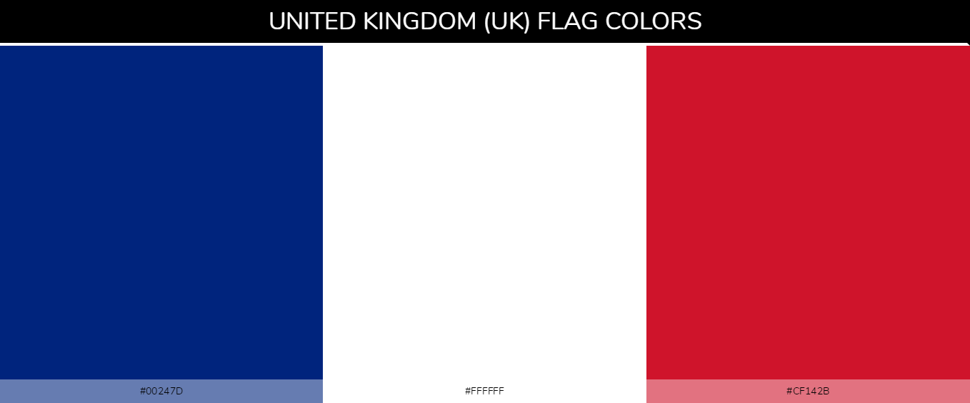 Color Palettes Of All Country Flags 183