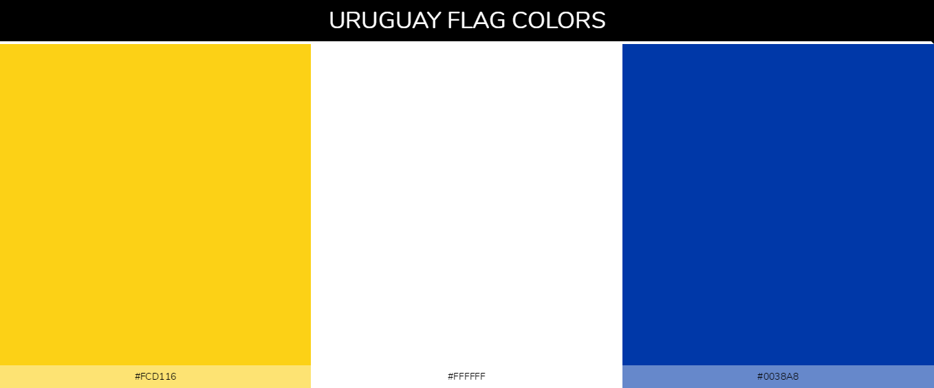 Color Palettes Of All Country Flags 184