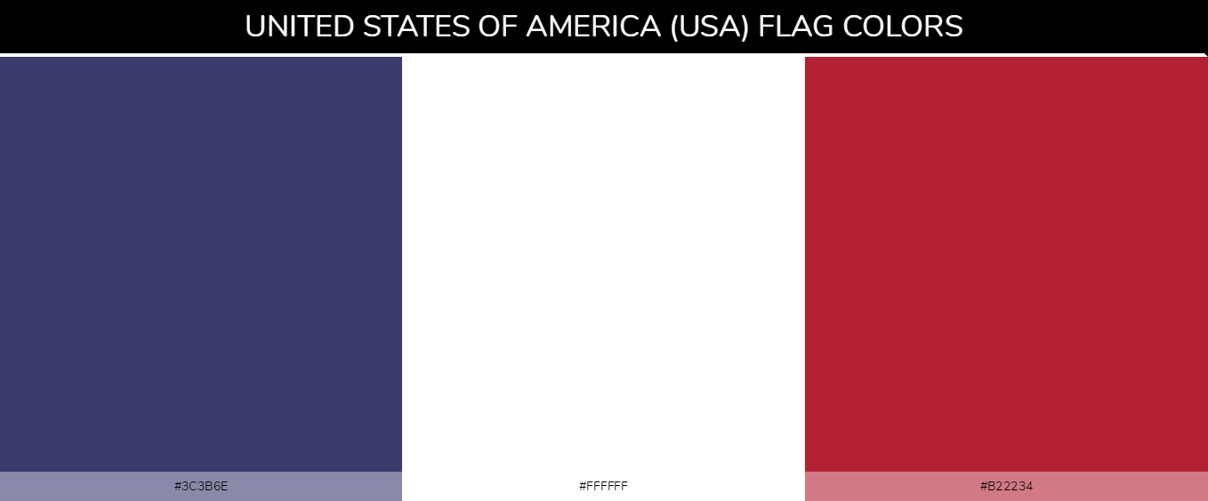 Color Palettes Of All Country Flags 186