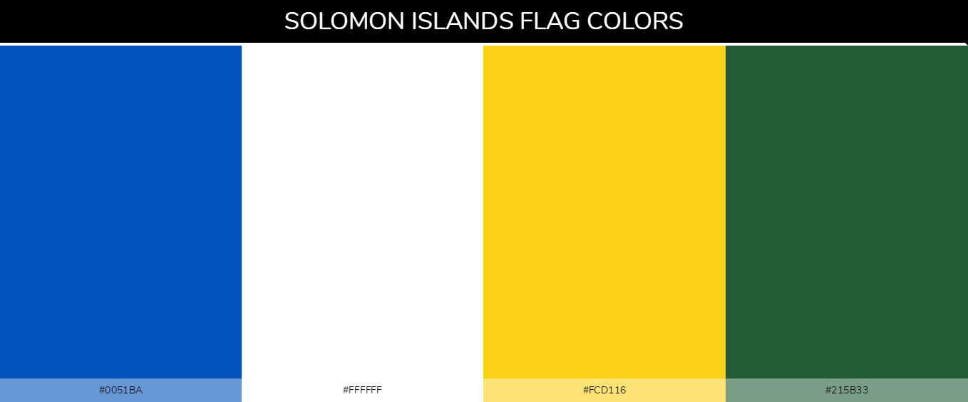 Color Palettes Of All Country Flags 187