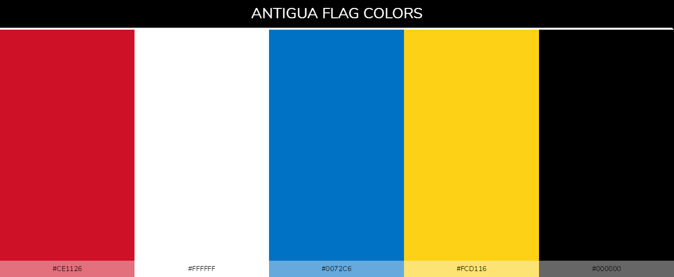 Color Palettes Of All Country Flags