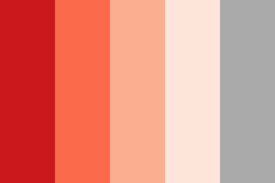 Colorbrewer Reds Color Palette