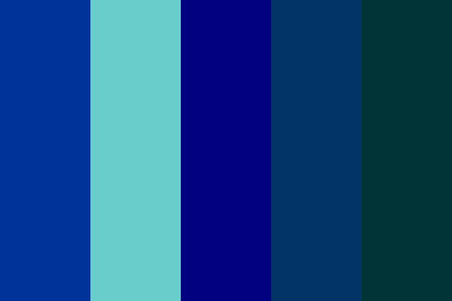 Colors Of Ancient Egypt   Blue Color Palette