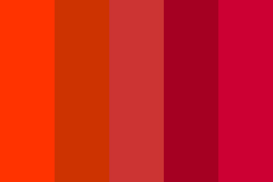 Colors Of Ancient Egypt   Red Color Palette