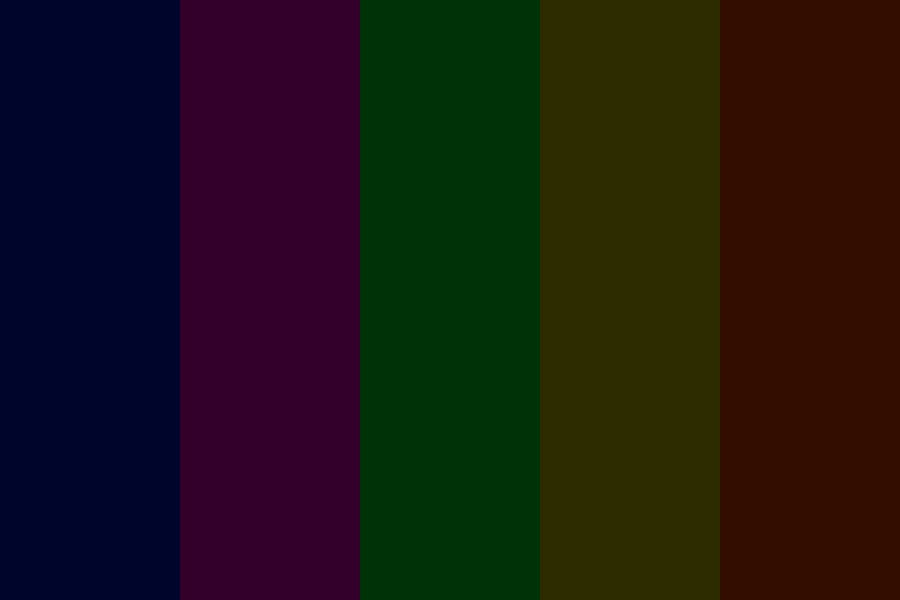 Colors Of The Night Color Palette