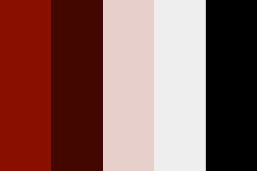 Community Pool Red Color Palette
