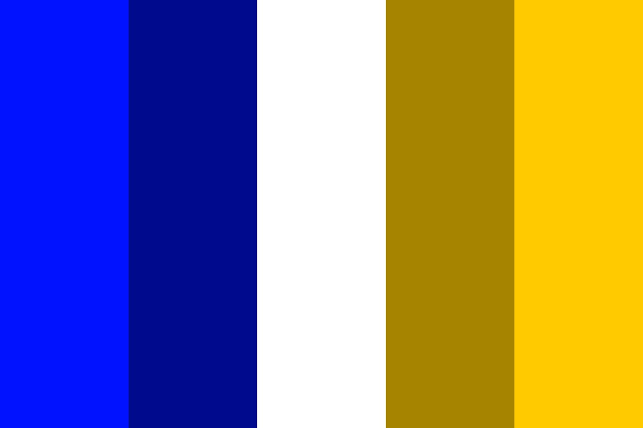 Complementary Colours   Blue And Yellow Color Palette