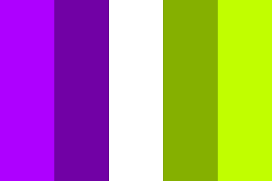 Complementary Colours   Purple And Green Color Palette