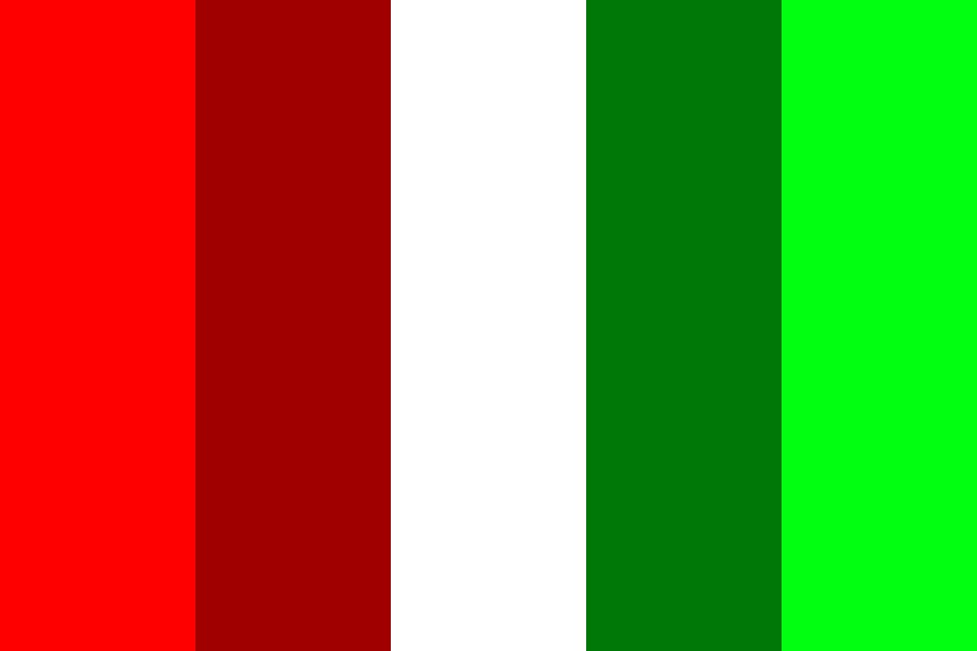 Complementary Colours   Red And Green Color Palette