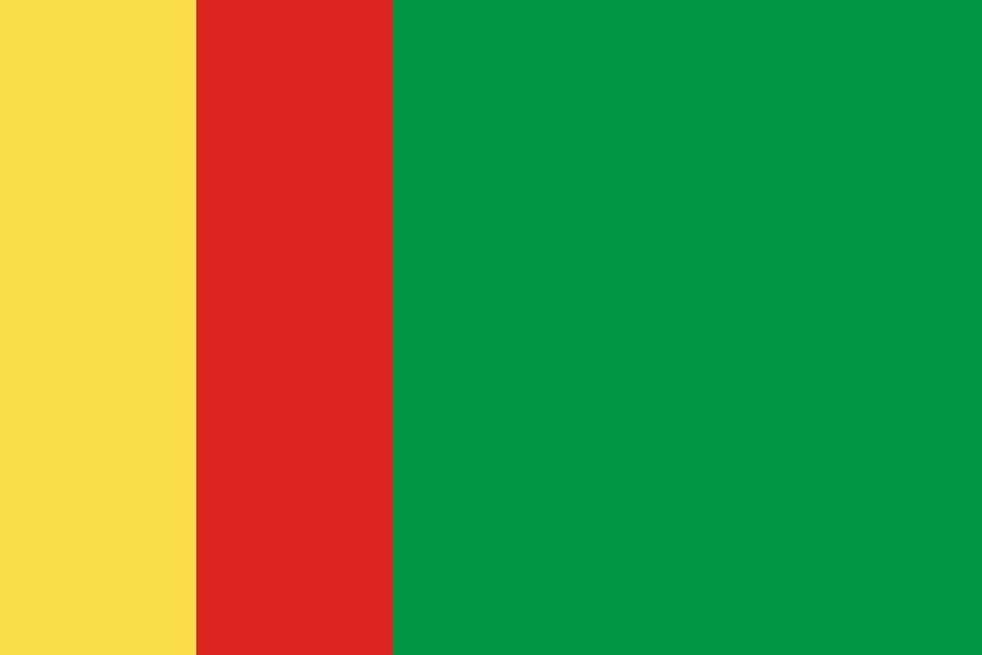 Congo Flag Color Palette