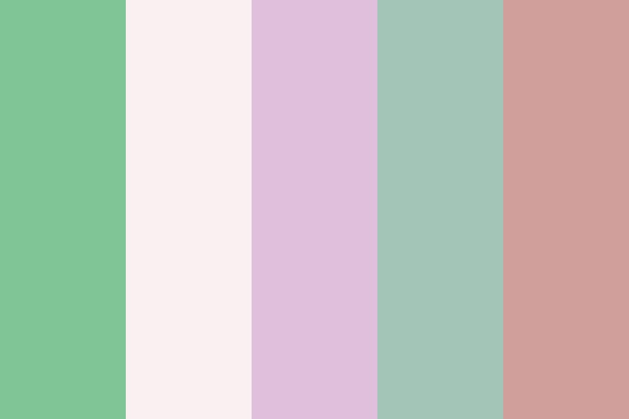 Cool And Collected Color Palette