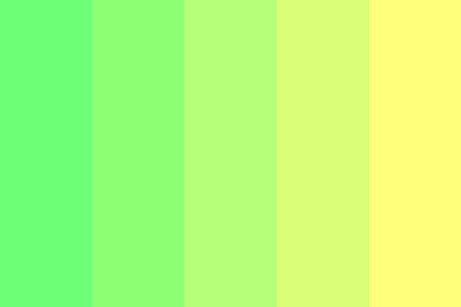 Cool Bananas Color Palette