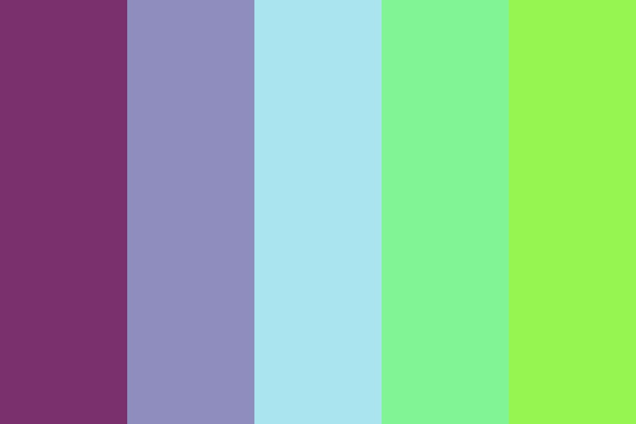 Cool Berry Color Palette