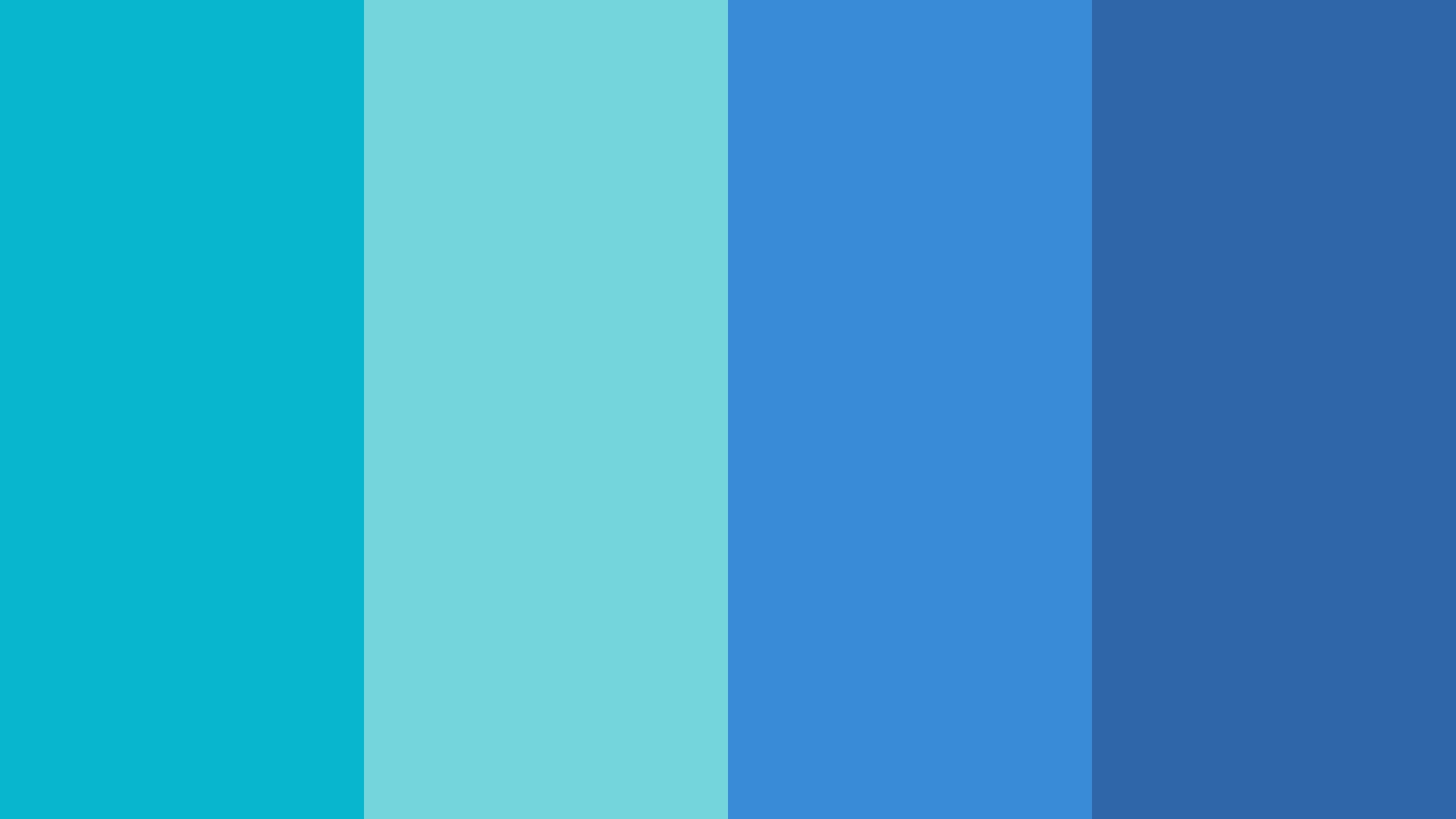 Cool Blue Color Palette