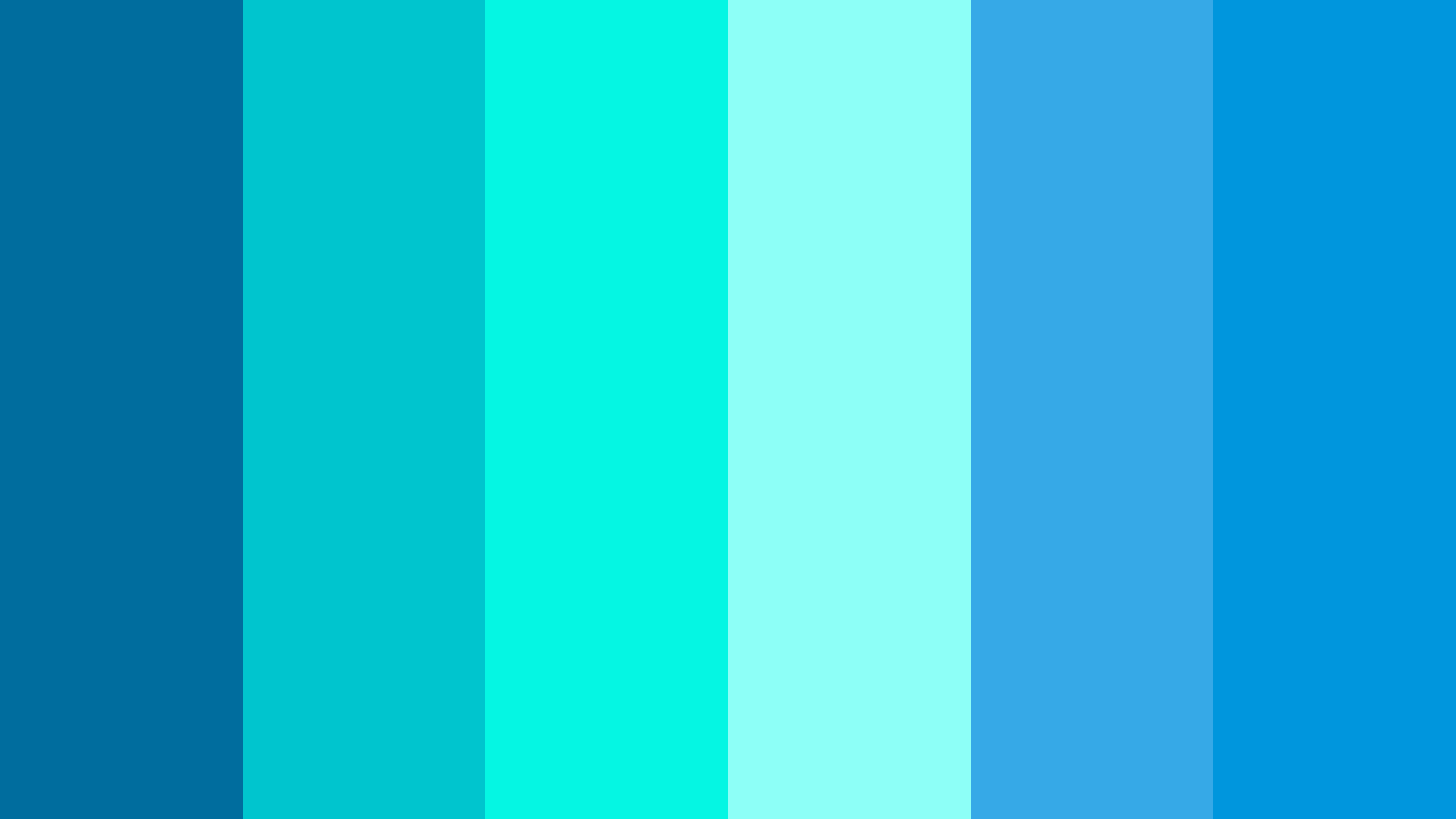 Cool Color Palette