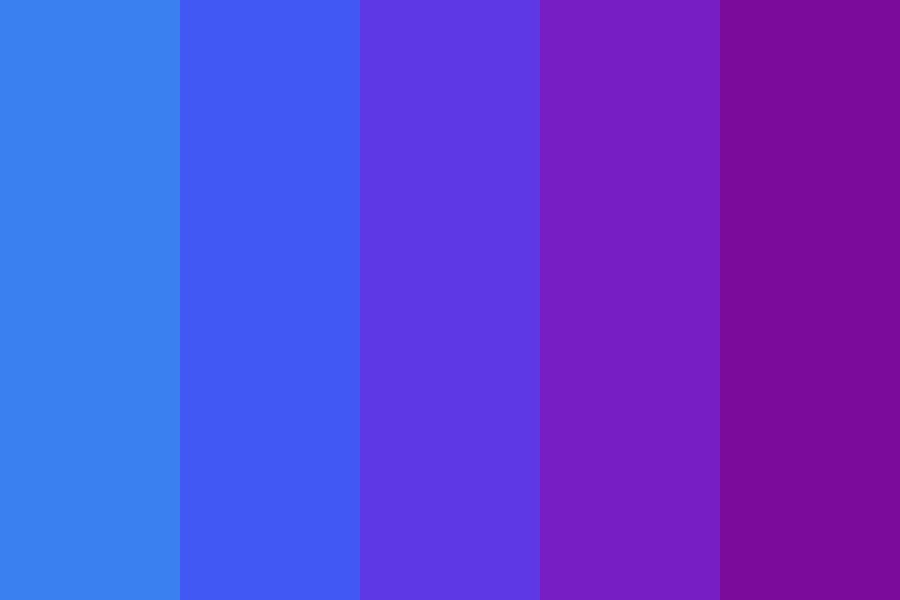 Cool Color Pallette Color Palette