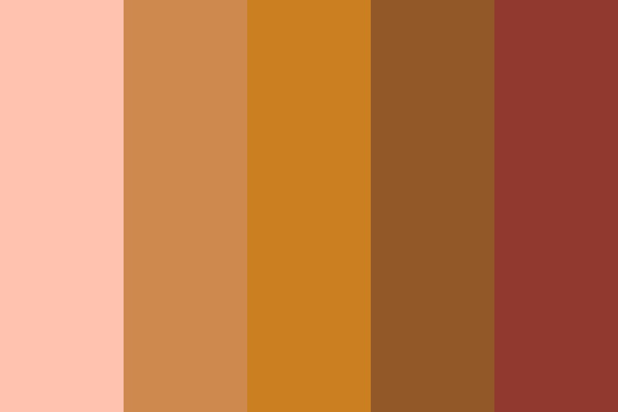 Cool Friend Color Palette