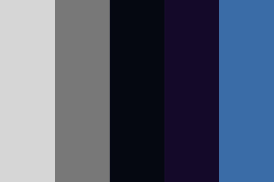 Cool Grape Color Palette