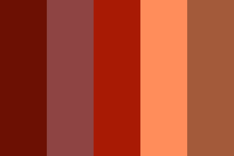 Cool Lava Color Palette