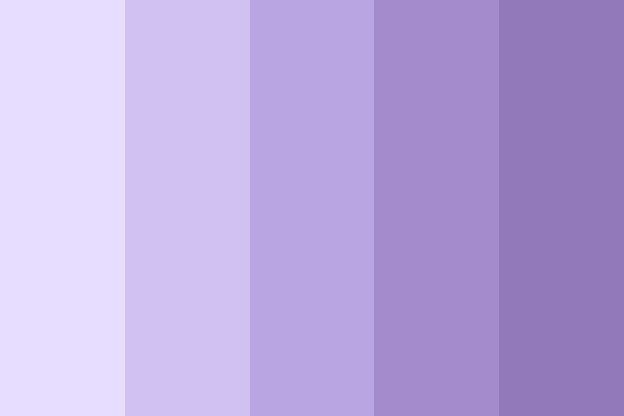 Cool Lilacs Color Palette