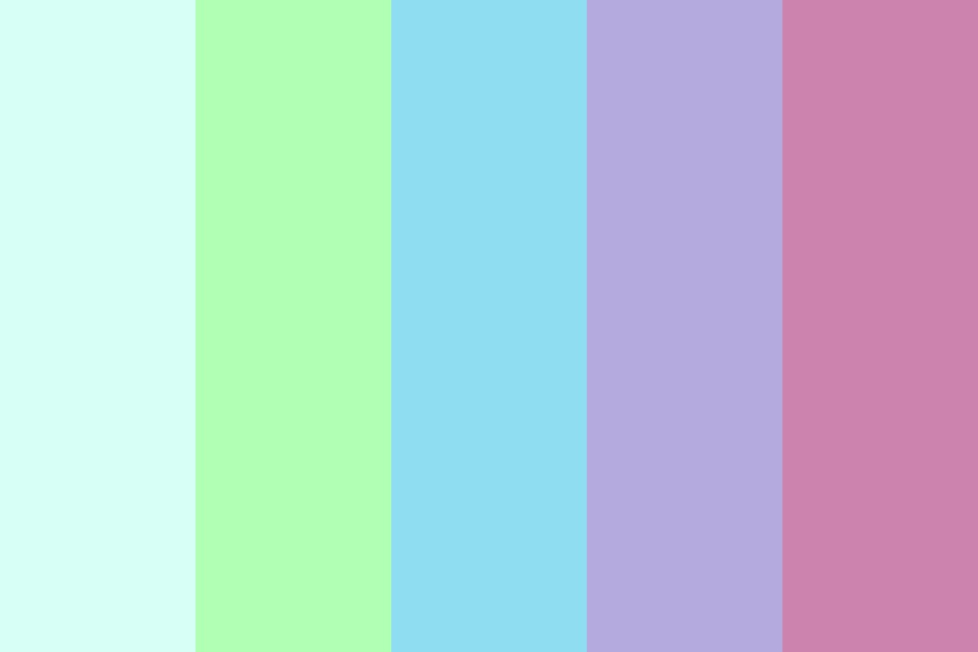 Cool Paradise Color Palette