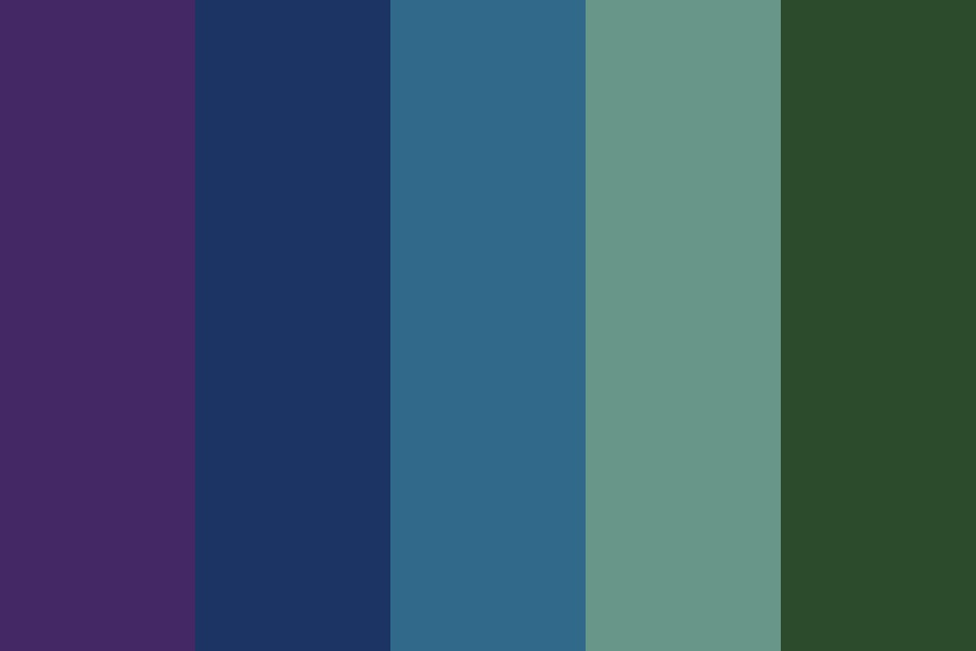 Cool Server Tones Color Palette