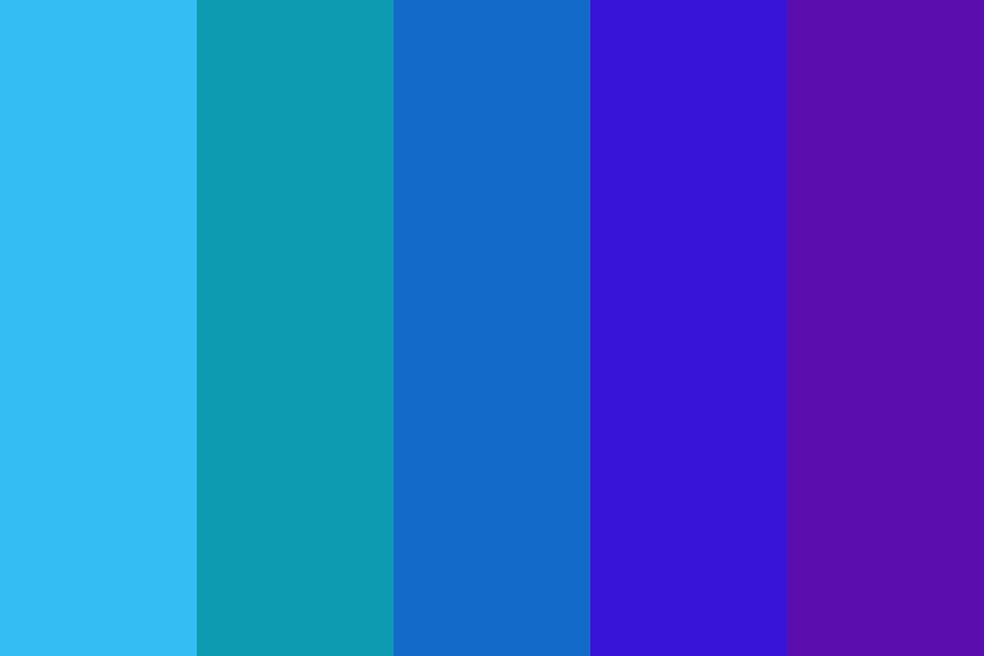 Cool Shades Color Palette