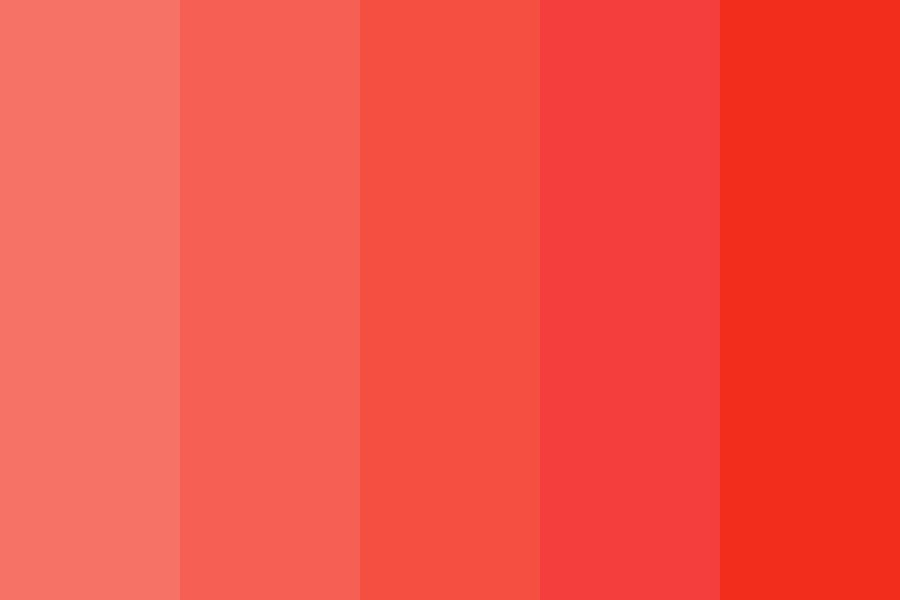 Coral Sea Color Palette