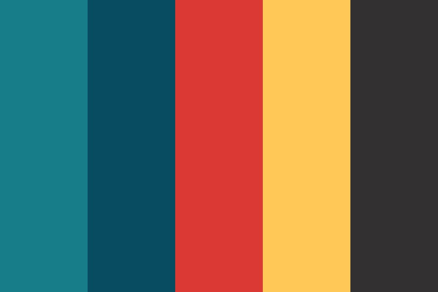 Corals Of The Red Sea Color Palette