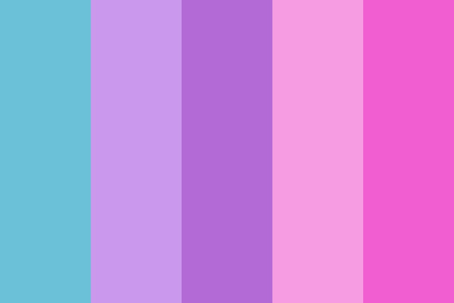Cotton Candy And Sky Color Palette