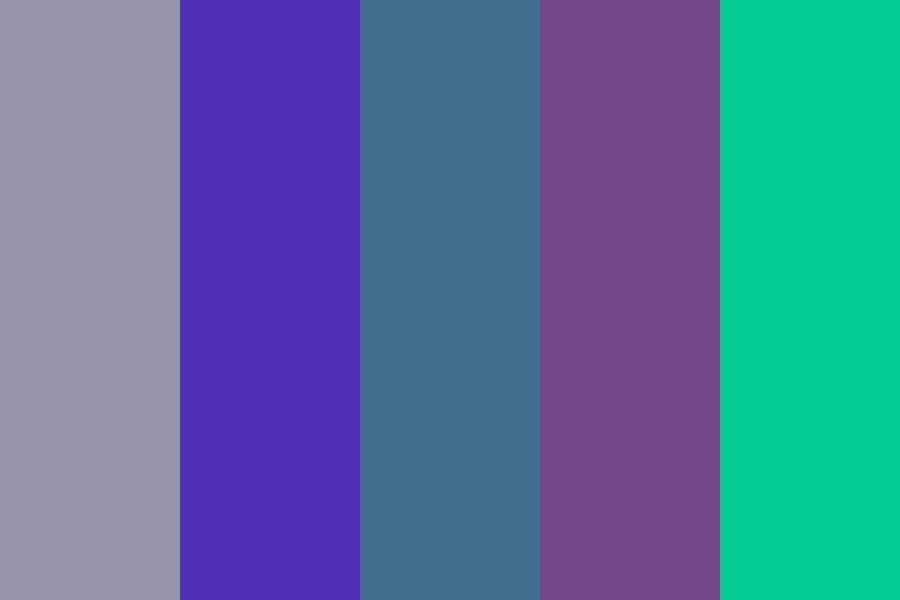Cotw Laughter   Cool Colors Color Palette