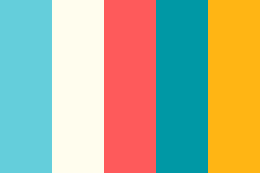 Crab Shack Brights Color Palette