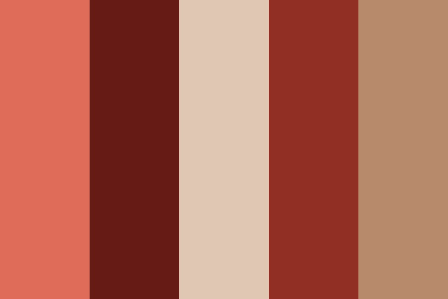 Cream And Strawberries Color Palette