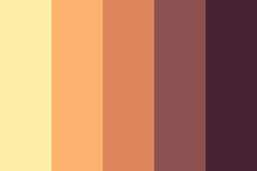 Cream Sunset Color Palette