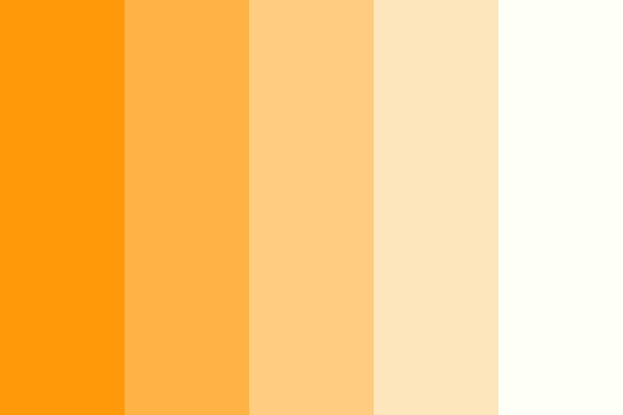 Creamsicle Color Palette