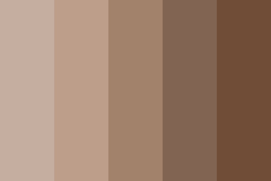 Creamy Chocolate Milk Color Palette