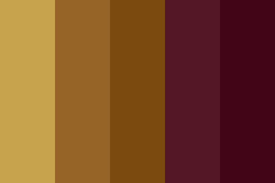 Crowded Beach And Cheap Wine Color Palette