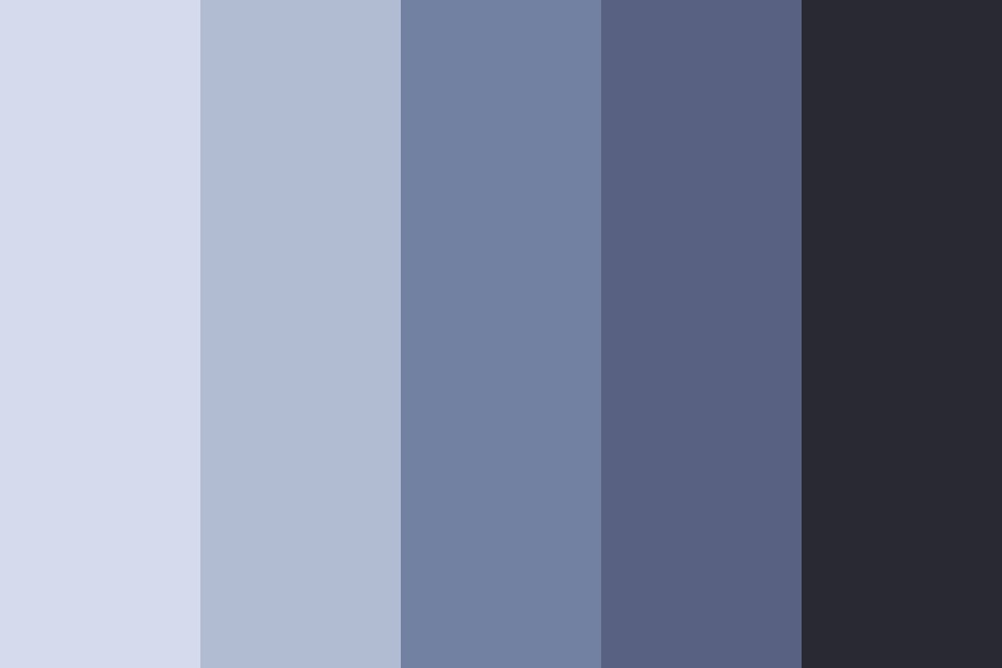 Cruel Blue Color Palette