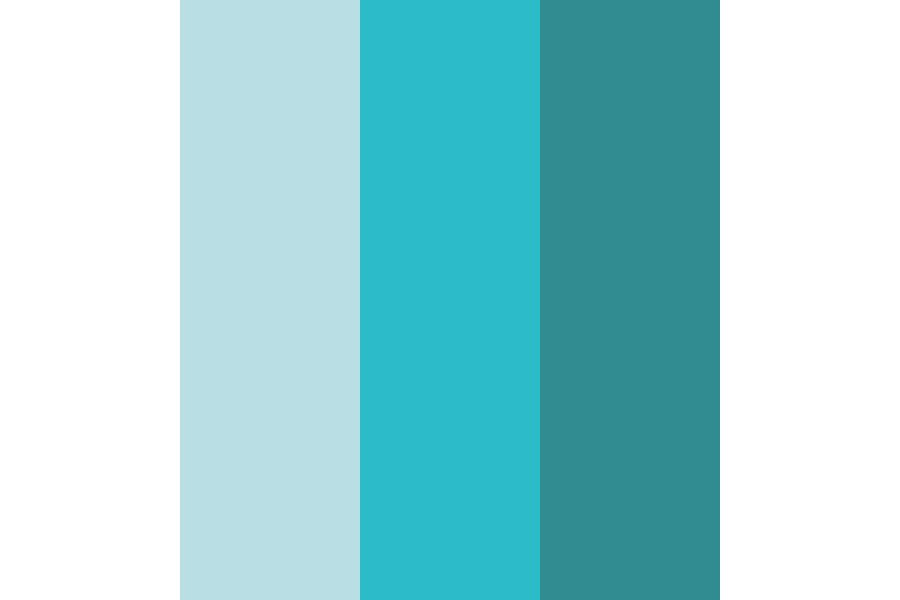 Cryo Blue Color Palette