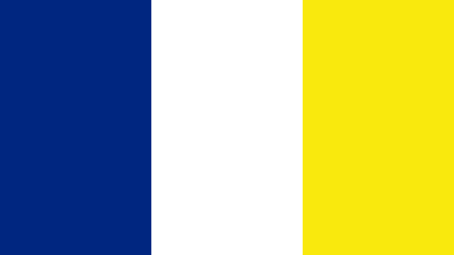 Curacao Flag Color Palette