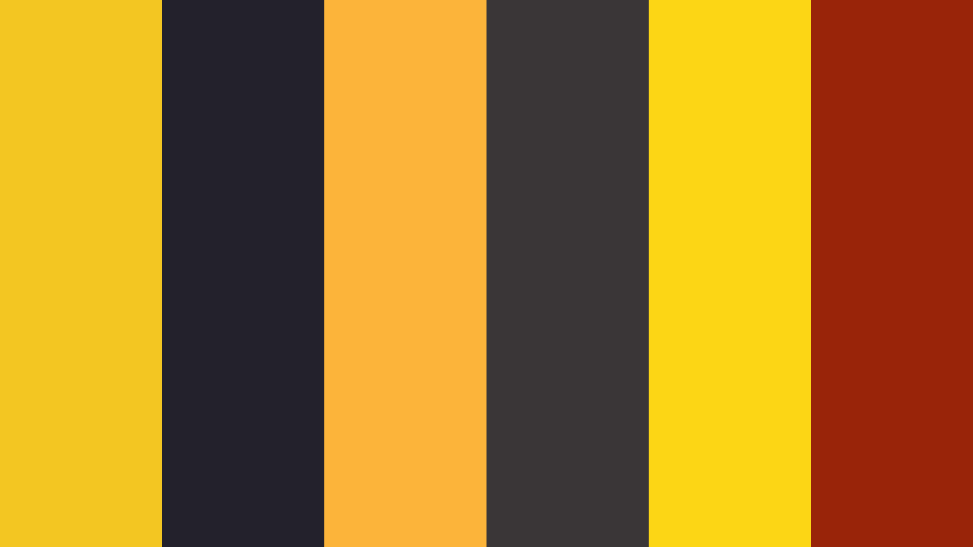 Cute Honey Bee Color Palette
