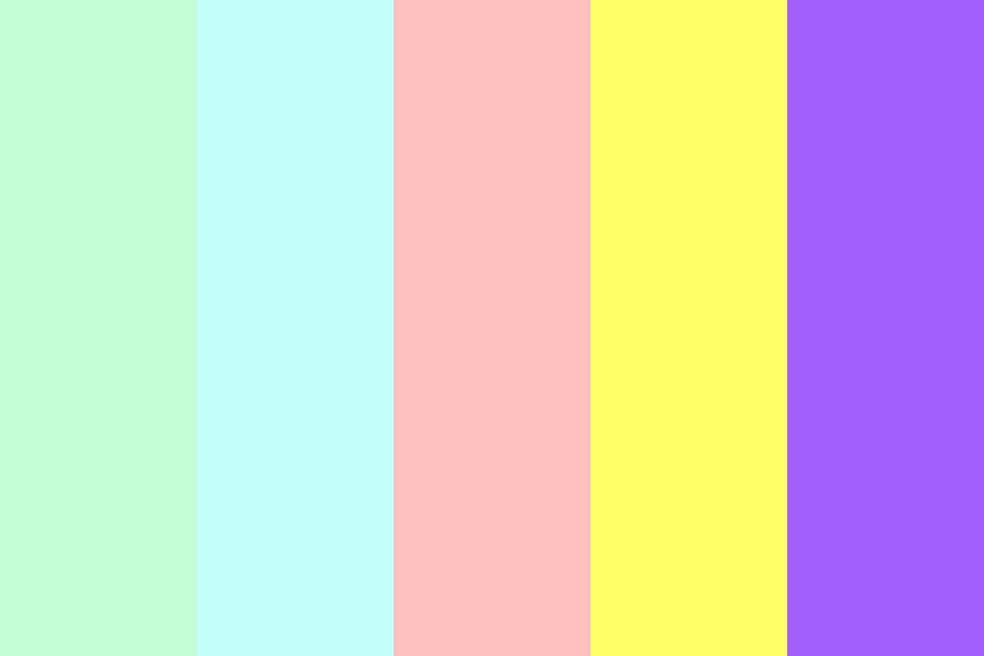 Cute Pastelish Colours Color Palette