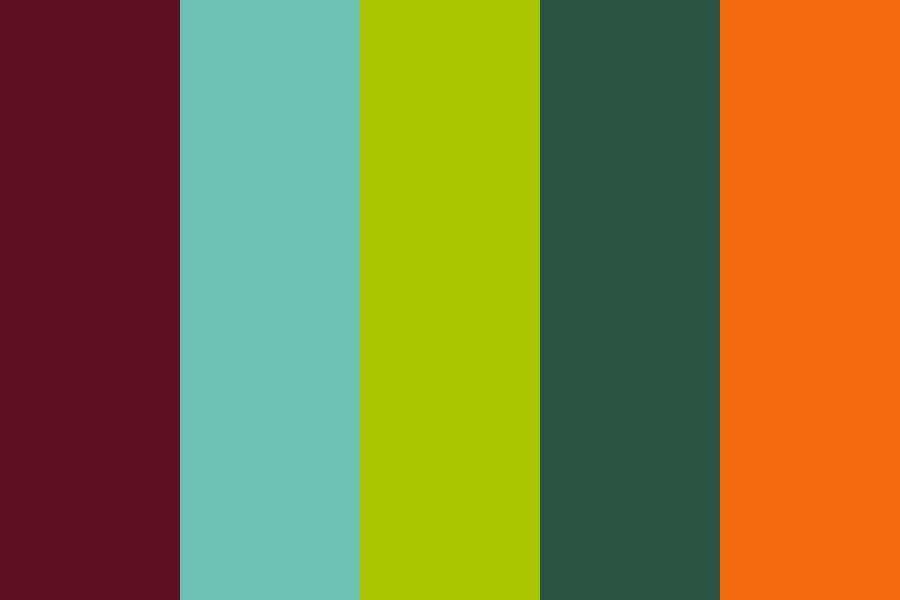 Danger In The Forest Color Palette